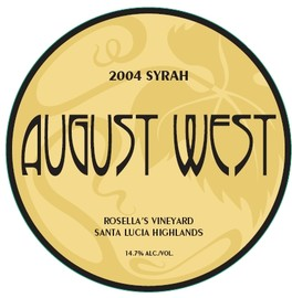 2004 Rosella's Vineyard Syrah