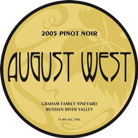 2005 Graham Family Vineyard Pinot Noir