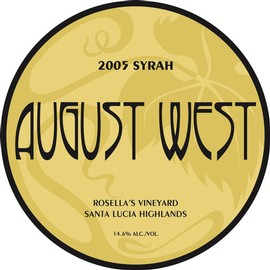 2005 Rosella's Vineyard Syrah
