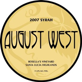 2007 Rosella's Vineyard Syrah