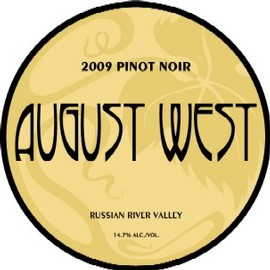 2009 Russian River Valley Pinot Noir