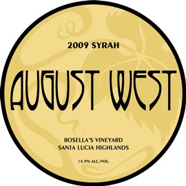 2009 Rosella's Vineyard Syrah