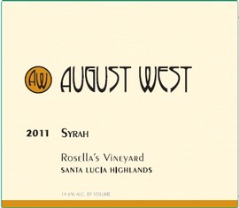 2011 Rosella's Vineyard Syrah