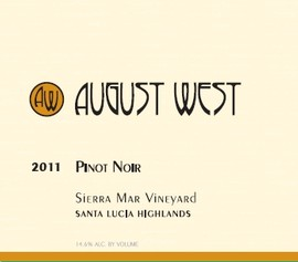2011 Sierra Mar Vineyard Pinot Noir