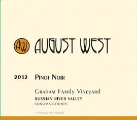 2012 Graham Family Vineyard Pinot Noir