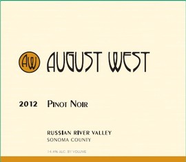 2012 Russian River Valley Pinot Noir