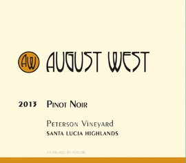 2013 Peterson Vineyard Pinot Noir