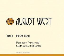 2016 Peterson Vineyard Pinot Noir