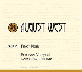 2017 Peterson Vineyard Pinot Noir