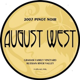 2007 Graham Family Vineyard Pinot Noir