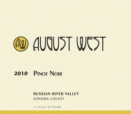 2010 Russian River Valley Pinot Noir