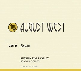 2010 Russian River Valley Syrah